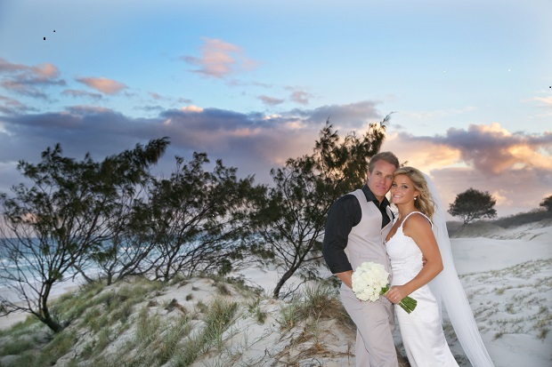 Designer Wedding Dress Gold Coast: Candice Pearce Married Shane Dykstra